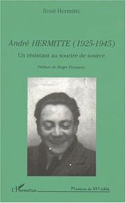 Cover of: André Hermitte (1925-1945)