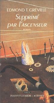 Cover of: Supprimé par l'ascenseur