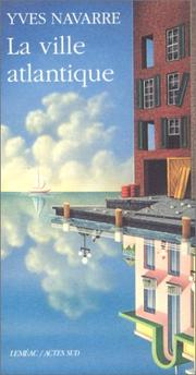 Cover of: La ville atlantique