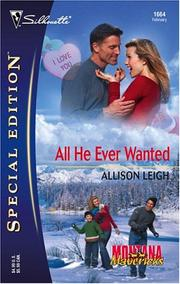 Cover of: All He Ever Wanted