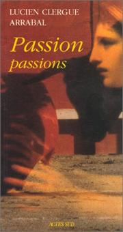 Cover of: Passion passions