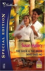 Cover of: The sheik & the bride who said no