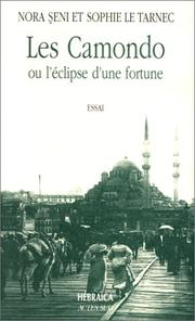 Cover of: Les Camondo, ou, L'éclipse d'une fortune