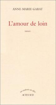 Cover of: L' amour de loin