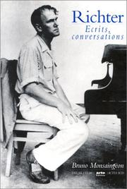 Cover of: Ecrits, conversations | Sviatoslav Richter