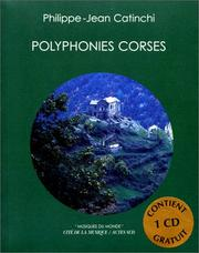 Cover of: Polyphonies corses