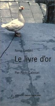 Cover of: Le livre d'or