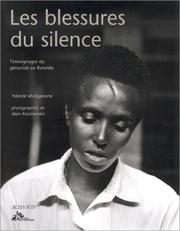 Cover of: Les blessures du silence