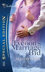 Cover of: The Tycoon's Marriage Bid