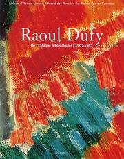 Cover of: Raoul Dufy