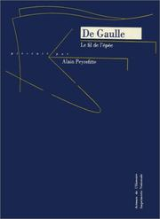 Cover of: Le fil de l'épée