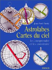 Cover of: Astrolabes, cartes du ciel