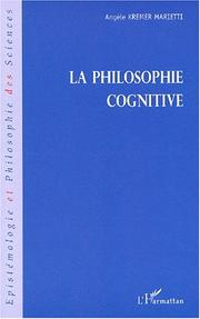 Cover of: La philosophie cognitive