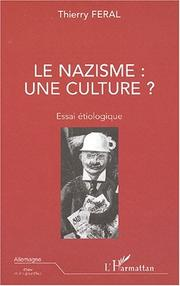 Cover of: Le nazisme, une culture?