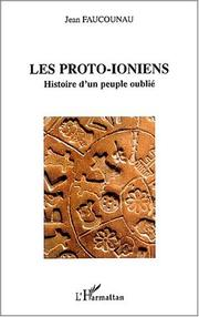 Cover of: Les proto-Ioniens