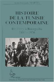 Cover of: Histoire de la Tunisie contemporaine