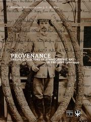 Cover of: Provenance | Hermione Waterfield