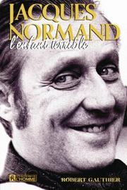 Cover of: Jacques Normand, l'enfant terrible