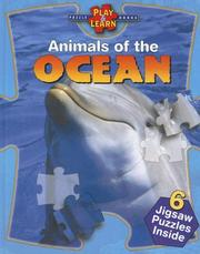 Cover of: Animals of the Ocean (Play & Learn Puzzle Books) | Marco Ferraris