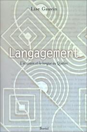 Cover of: Langagement
