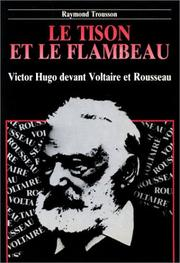 Cover of: Le tison et le flambeau