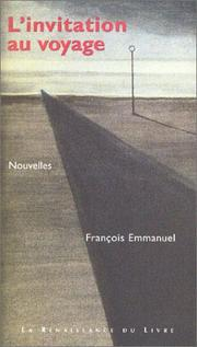 Cover of: L' invitation au voyage