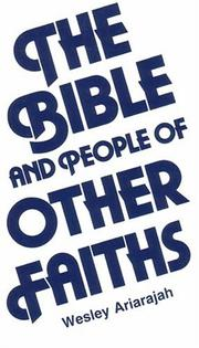 Cover of: The Bible and People of Other Faiths (The Risk book series)