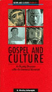 Cover of: Gospel and culture