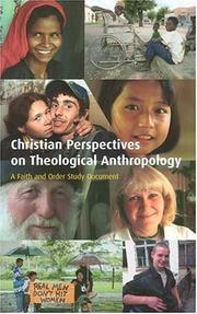 Christian Perspectives on Theological Anthropology (Faith & Order Papers)