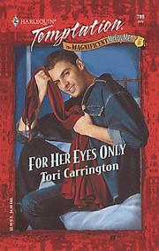Cover of: For Her Eyes Only (Magnificent Mccoy Men)