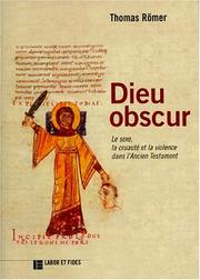 Cover of: Dieu obscur