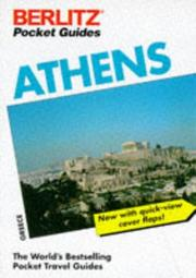 Cover of: Berlitz Athens