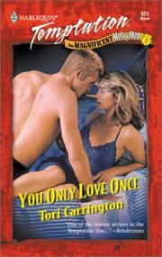 Cover of: You Only Love Once (The Magnificent Mccoy Men) (Harlequin Temptation, No 823) | Tori Carrington