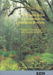 Cover of: A guide to the Convention on Biological Diversity