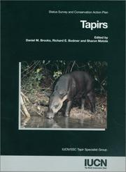 Cover of: Tapirs | IUCN/SSC Tapir Specialist Group