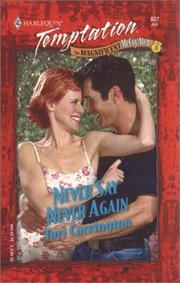 Cover of: Never Say Never Again (The Magnificent Mccoy Men)