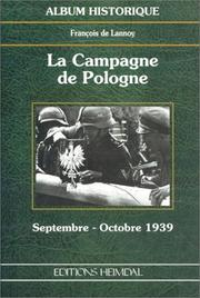 Cover of: La Campagne de Pologne