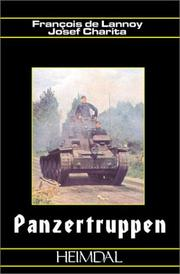 Cover of: Panzertruppen