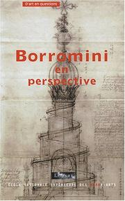 Cover of: Borromini en perspective
