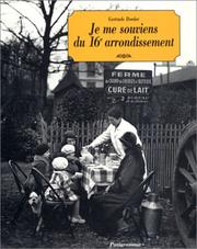 Cover of: Je me souviens du 16e arrondissement
