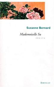 Cover of: Mademoisselle Su: récits