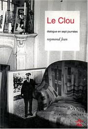 Cover of: Le clou