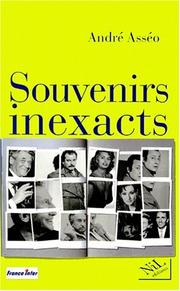 Cover of: Souvenirs inexacts