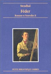 Cover of: Feder