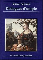 Cover of: Dialogue d'utopie