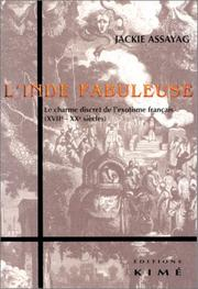 Cover of: L' Inde fabuleuse