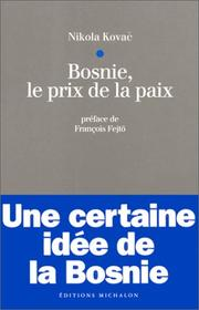 Cover of: Bosnie