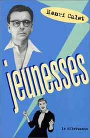 Cover of: Jeunesses