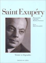 Cover of: Antoine de Saint-Exupéry