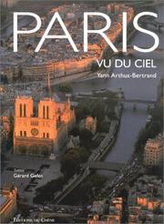 Cover of: Paris vu du ciel